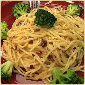 špageti Karbonara Kitchen Tv