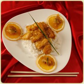 Kineska piletina u sosu od pomorandži