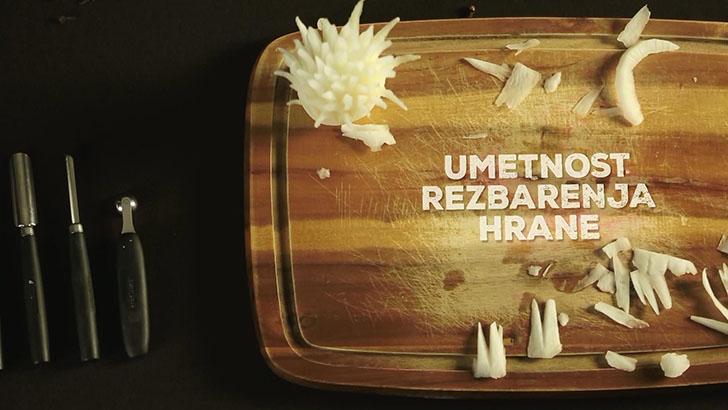 umetnost rezbarenja hrane - spica