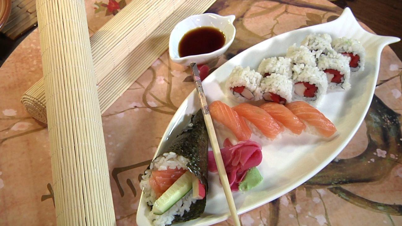 Sushi – hosomaki i futomaki