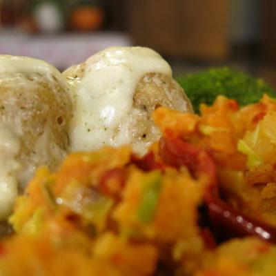 restovan krompir i knedle od oslica