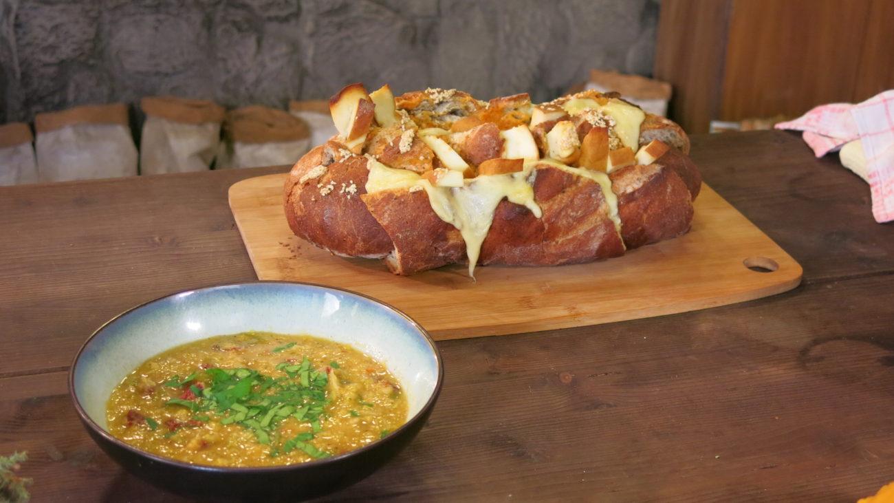 Super obrok od starog hleba i čorba od kukuruza, praziluka i suvog paradajza