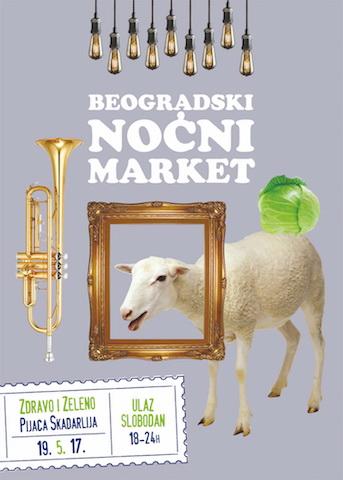 Beogradski nocni market - Zdravo i zeleno