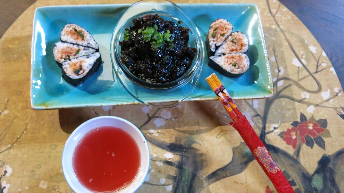 Chung Kimbap – korejski suši i čaj od đumbira