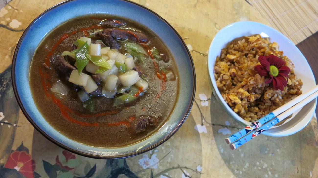 Supa od govedine i daikona