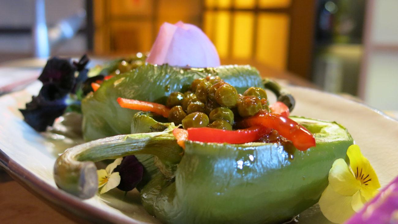 Foo yung punjene paprike