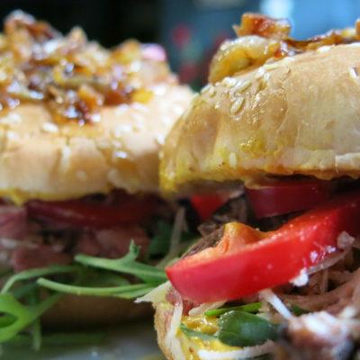 sendvic od junecih rebara