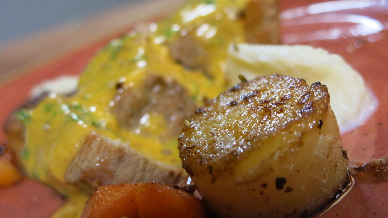 U čast Mark Pjer Vajta – teleći kotlet sa krompirom i šargarepom