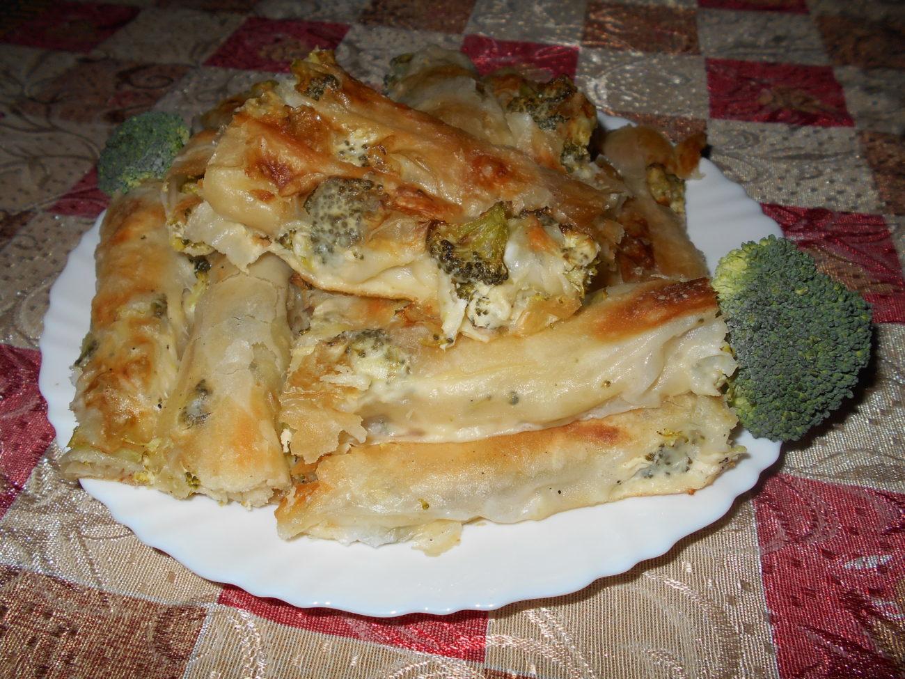 Dijana Ademović (Subotica): Savijača sa brokolijem i sirom