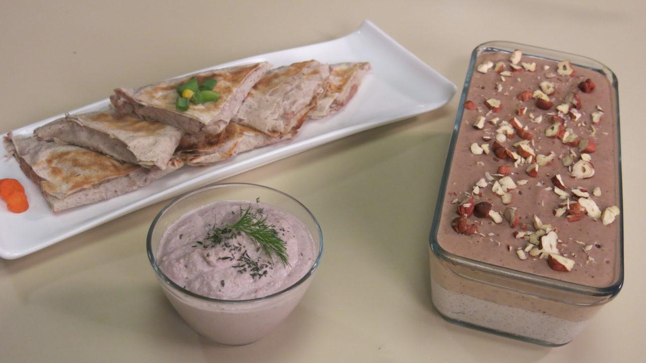 Osvežavajući parfe, slani namaz od suncokreta i punjene paprike, pite ili rolnice sa smrznutim povrćem u heljdinim korama