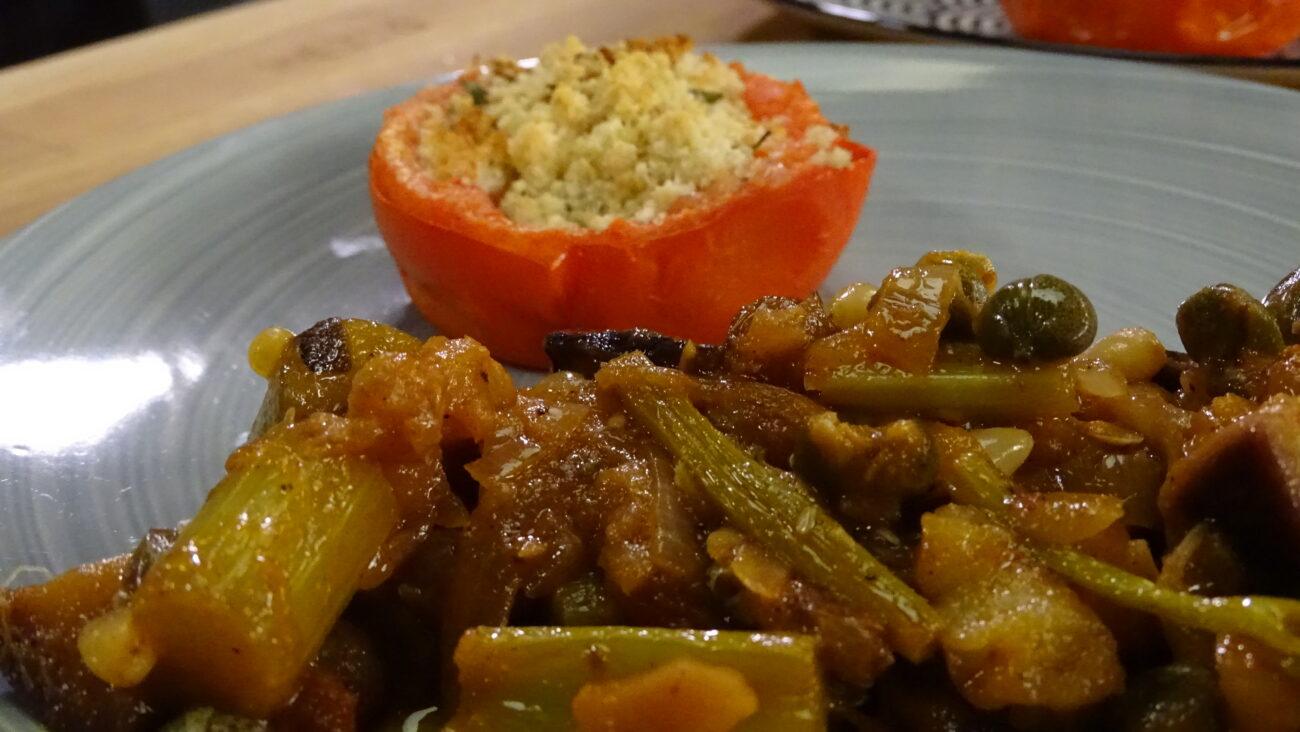 Caponata – sicilijanska topla salata od patlidžana i celera